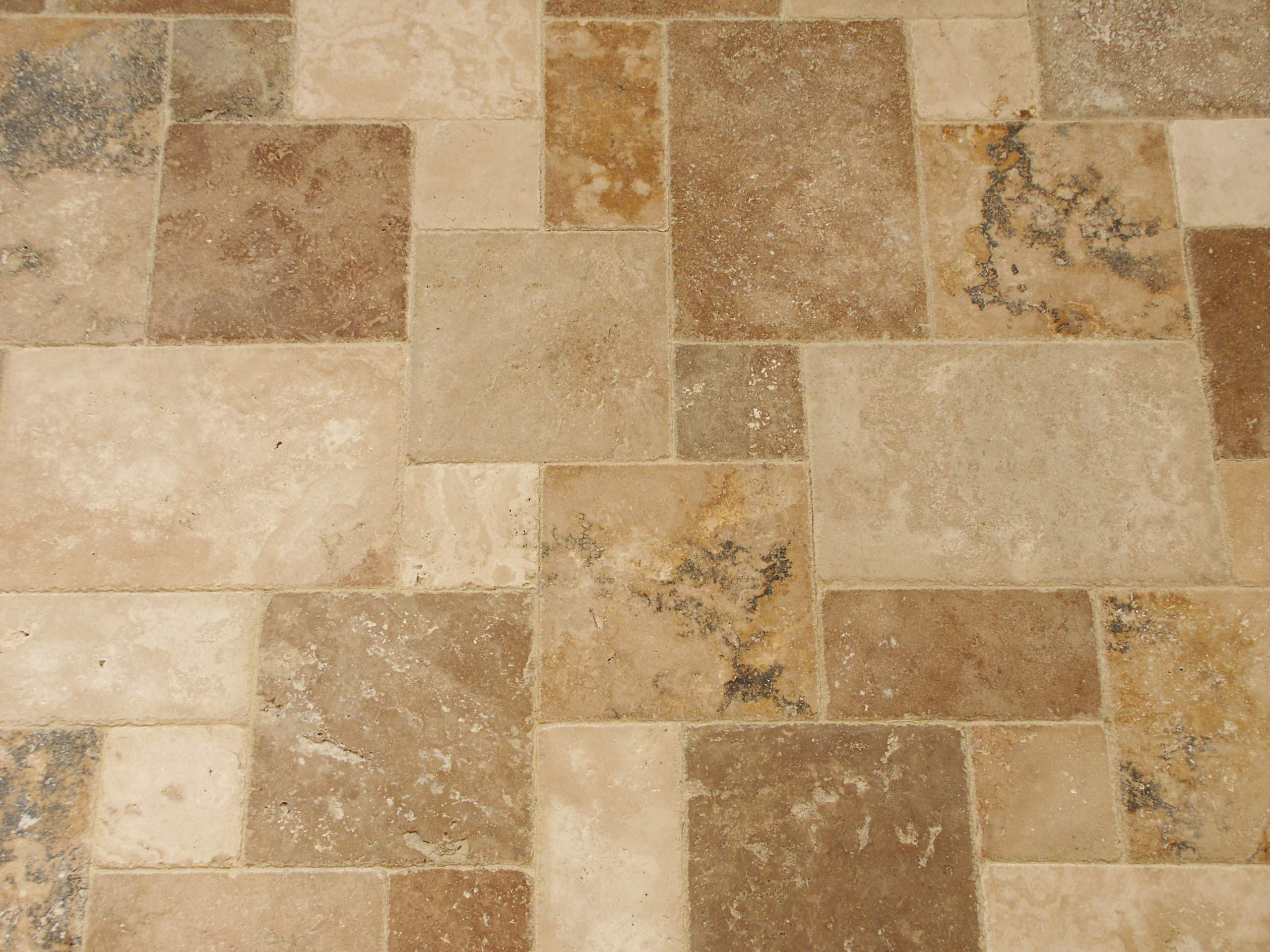 Travertine tile pictures home design for Travertine tile designs