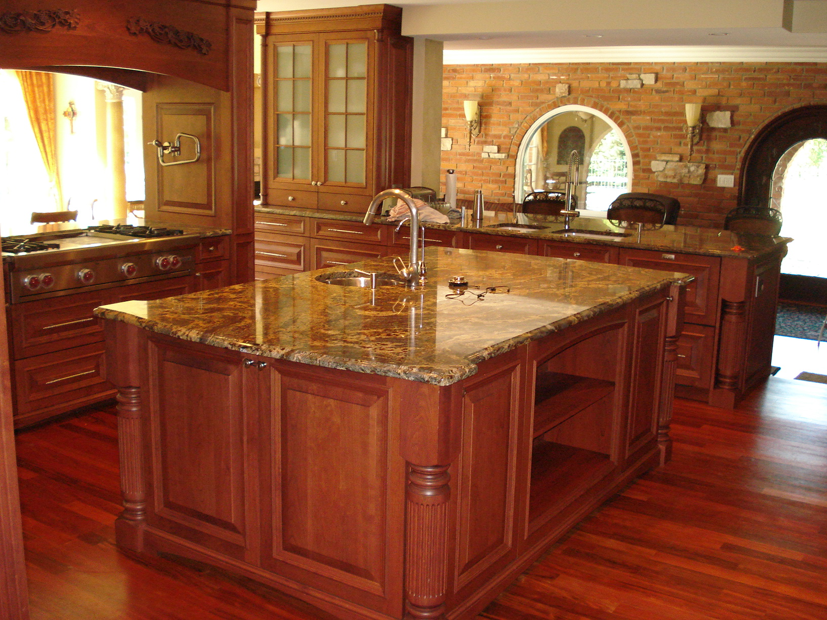 granite countertops rigo tile - Granite Countertop Pictures Kitchen